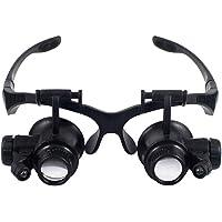 Guotail Gafas de Aumento de Tipo de Vidrio