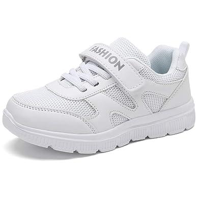 118052d3bffe6 Chaussure de Course Sport Sneakers Basket Mode Garçon Fille Tennis Running  Compétition Entraînement Chaussure Walking Shoes