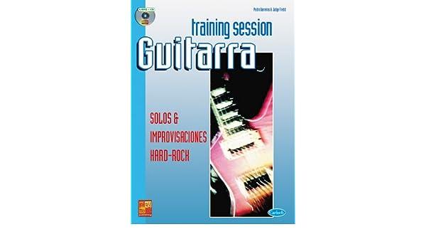 Training Session Guitarra: Solos & improvisaciones Hard Rock Play ...