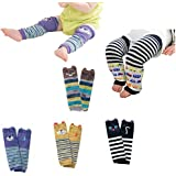Luckystaryuan ® Set of 7 Combed cotton Baby Kneepads Leg Protector(lovely boy style)