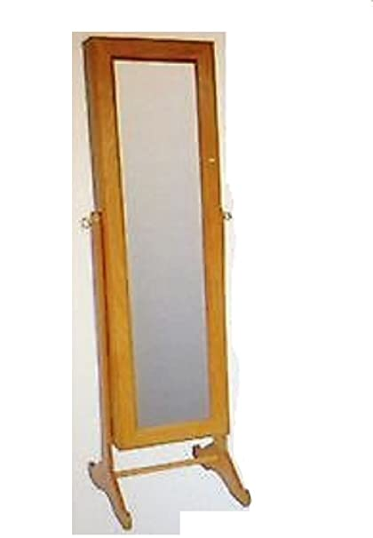 Gold U0026 Silver Safekeeper Mirrored Jewelry Cabinet By Lori Greiner