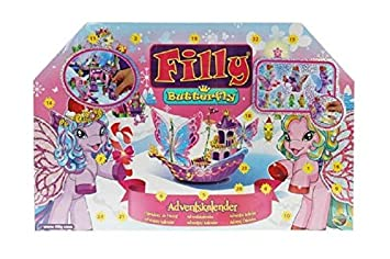e6ebbb116f098f Dracco M770007 - Adventskalender Filly Butterfly  Amazon.de  Spielzeug
