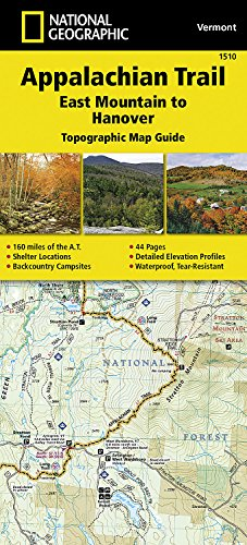 (Appalachian Trail, East Mountain to Hanover [Vermont] (National Geographic Topographic Map Guide))