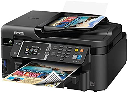 Amazon.com: Epson WorkForce WF-3620 WiFi directo todo ...