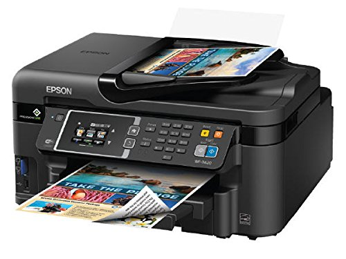 Epson WorkForce WF-3620 WiFi Direct All-in-One Color Inkj...
