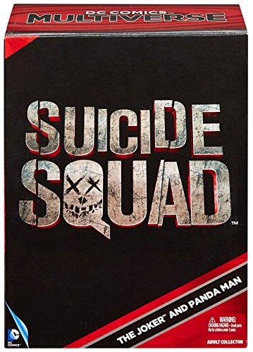 SDCC 2016 DC COMICS MULTIVERSE SUICIDE SQUAD THE JOKER & PANDA 2 PACK (Dc Card Japan)