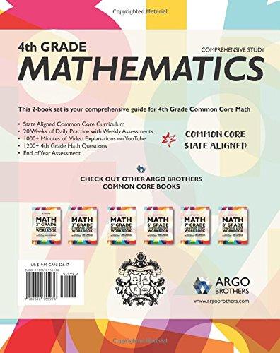 Common Core Math Workbook, Grade 4: Multiple Choice, Daily Math ...