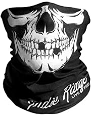 Skull Motorcycle Mask By Indie Ridge - Dust and Wind Riding Outdoor Neck Gaiter