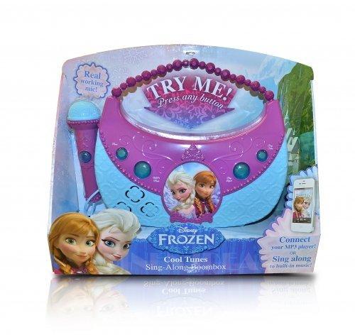 Disney Frozen Cool Tunes Sing Along Boombox By Kiddesigns