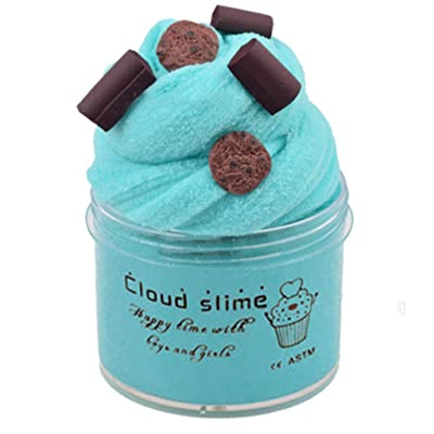 Kanku DIY Slime Supplies Fruit Kit Cloud Slime Aromatherapy Pressure Children Slime to (A): Clothing
