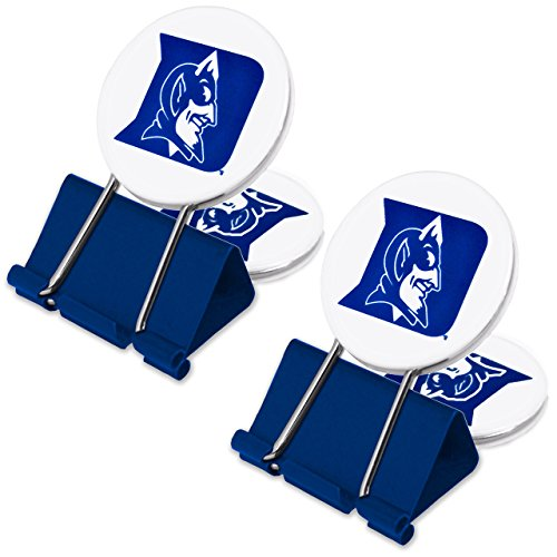 NCAA Duke Blue Devils MyFanClip Multipurpose Clips (Pack of ()