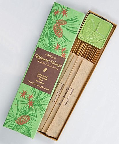 Maroma Incense Collection, Balsamic Woods by Maroma   B003B3Q3QS
