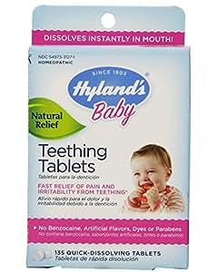 Hylands Teething Tablets, 135 tabs (Pack of 3)