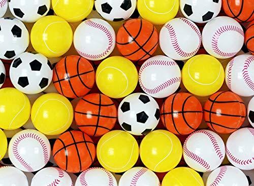 (Entervending Sports Balls 32 mm - Sports Plastic Beer Pong Balls - Ping Pong Balls - Great Novelties for Beer Pong Games (Pack of)