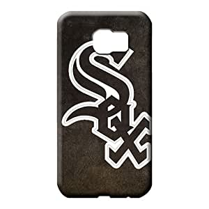 samsung galaxy s6 edge Dirtshock Tpye phone Hard Cases With Fashion Design mobile phone carrying skins chicago white sox