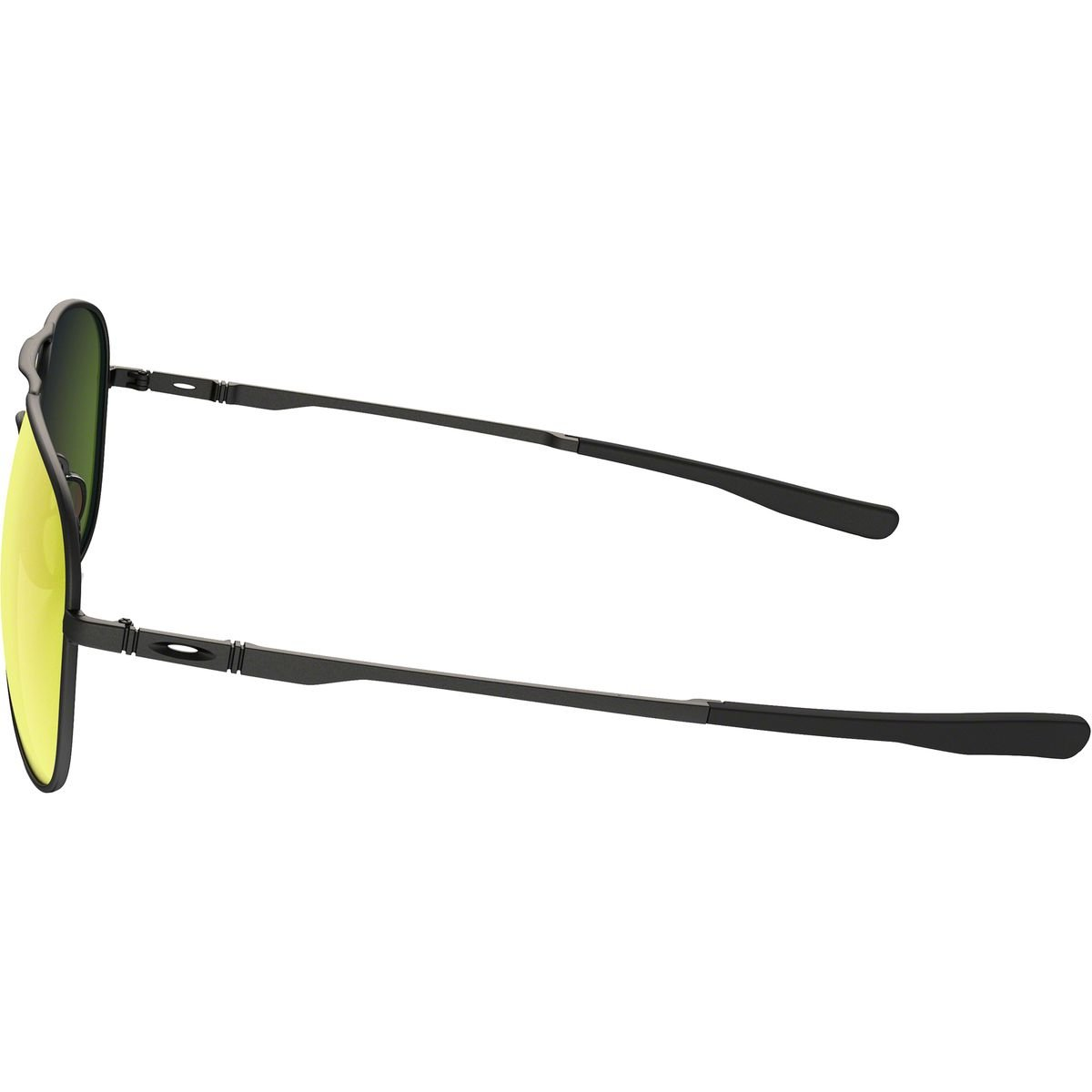 ff527ac151 Amazon.com  Oakley Elmont Large Aviator Sunglasses Satin Black w  Ruby  Iridium Lens + Sticker  Sports   Outdoors