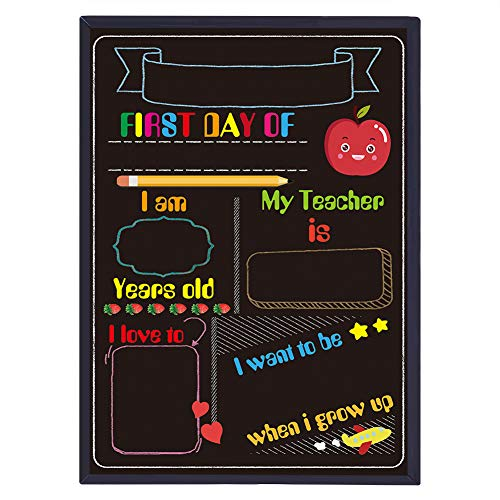WaaHome First Day of School Chalkboard Sign