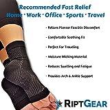 RiptGear Plantar Fasciitis Socks for Women and Men