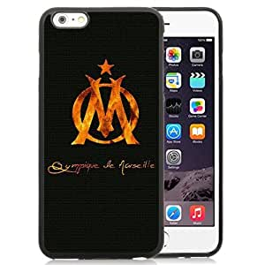 Unique DIY Designed Case For iPhone 6 Plus 5.5 Inch With Soccer Club Marseille 02 Football Logo Cell Phone Case