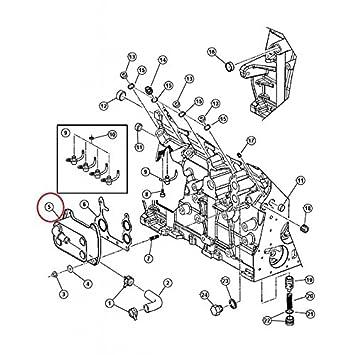 Radiador Refrigeración aceite motor para Jeep Cherokee 2.8L ...