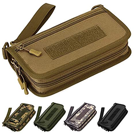 Selighting Monedero Moda Nylon Estilo Militar Táctical ...