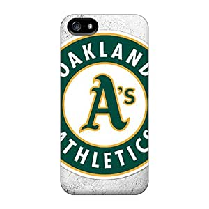 New RTc9677NSOo Oakland Athletics Skin Case Cover Shatterproof Case For Iphone 5/5s