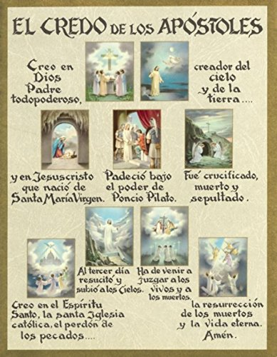 (Religious & Catholic Gifts, Spanish Apostle's Creed - Print)