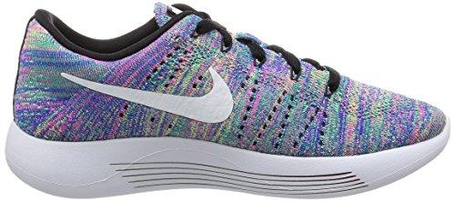 Nike 843765-004, Zapatillas de Trail Running para Mujer Negro (Black/White-Racer Blue-Clear Jade)