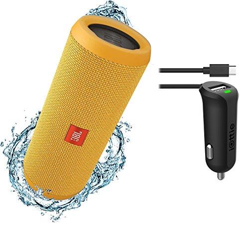 JBL Flip 3 Splashproof Portable Bluetooth Speaker & Car Char