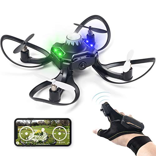 Andals 2019 Newest Gesture Control Drone 2.4G 6 Axis HD Camera Mini RC Quadcopter with Altitude Hold, Gravity Sensor Function Outdoor Fly Freely with Gestures & APP Control