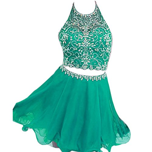 Dress Kurz Piece Heimkehr Fanciest Green Two Damen 2016 Party Cocktail Kleider qxfASazUfw