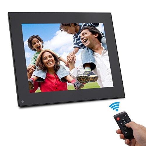 Digital Picture Frame 8 Inch - HD Video Digital Slideshow Picture Frame Electronic Picture Frame with Remote Control Bsimb M03 (Black) by Bsimber