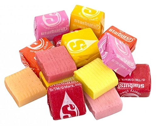 Starburst Assorted Flavors Fresh Candy Bulk Wholesale Value Pack- 7.05 Pound (112.9 -