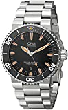 Oris Men's 73376534159MB Divers Analog Display Swiss Automatic Silver Watch