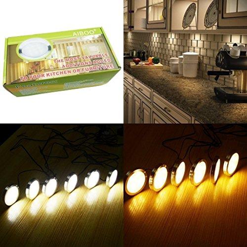Aiboo Kitchen Under Cabinet Lighting Led 12vdc 8 Pack