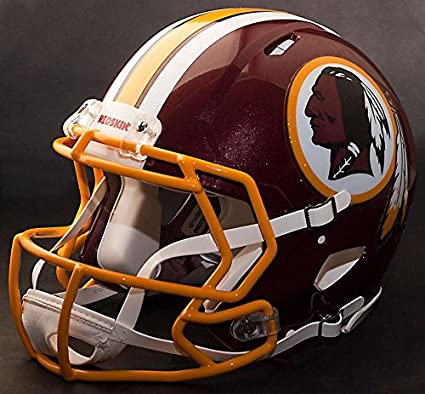 4b79b68bc91cc Riddell Speed Washington Redskins NFL Replica - Casco de fútbol con diseño  de Facemask Faceguard