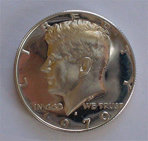 1970 Kennedy Gem Proof 40% Silver Half Dollar (1970 Half Dollar)