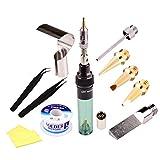 High Quality Electronics DIY MT-100 Tool Gas Soldering Iron Gun Blow Torch Cordless Solder Iron Pen