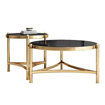 Amazon.com: Modern Nesting Coffee Table Sets, Side Table ...