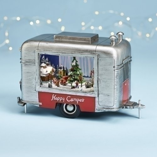 Roman Amusements Holiday Musical CMAS Camper - Christmas Happy Trailers