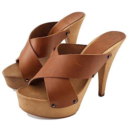 my392 Cuero 13 Aguja Tacon Shoes Kiara Zueco ZYEwqvwg