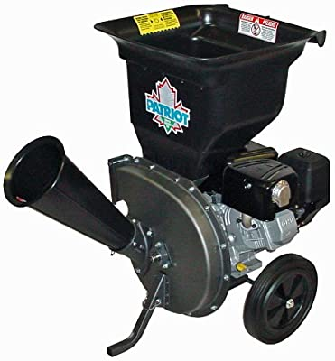 Patriot CSV-3100B Gas-Powered Wood Chipper & Shredder