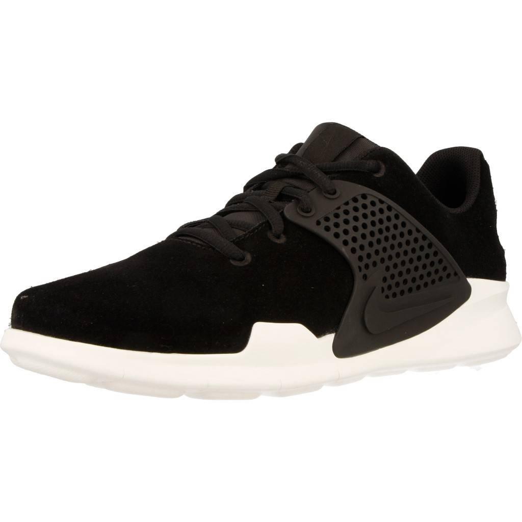 uk availability aa80d 09e7b Nike Arrowz Prem Herren, Nubukleder, Sneaker Low 47 EUSchwarz -  associate-degree.de