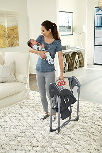 Graco Slim Spaces Compact Baby Swing, Alma by Graco (Image #4)