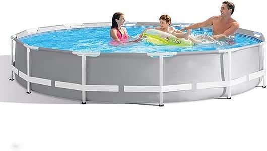 AXHSYZM Piscinas De La Familia Natación, Frame Sobra La Tierra Piscina Aire Libre 305 * 76cm: Amazon.es: Deportes y aire libre
