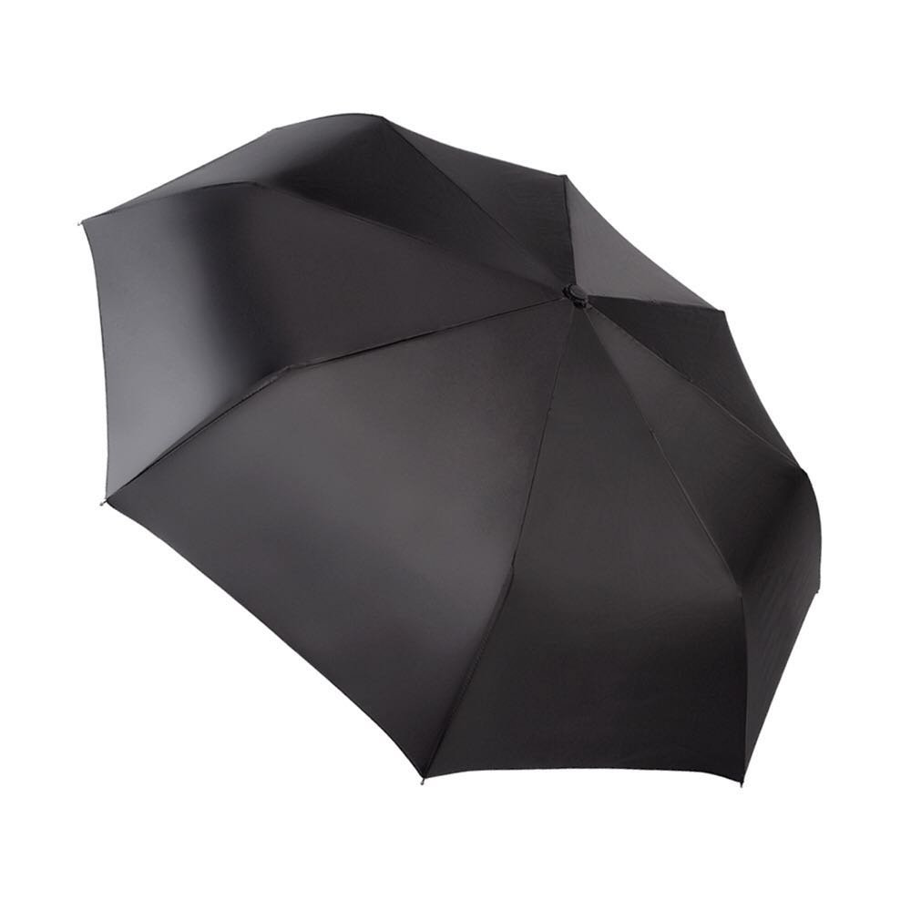 EXCEL-LEADER Unbreakable Windproof Golf Umbrella,Strong 8 Rib Frame Automatic & Convenient Compact One Hand Auto Open & Close Folding Umbrella,Black