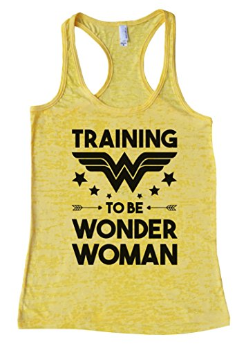 """4d847e49bc52c Womens Funny Racerback Tank Top """"Training To Be Wonder Woman"""" S-XL ..."""