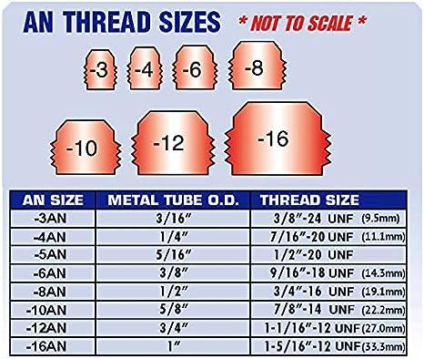 Fevas Tube 6mm-1//8 PT Thread Pneumatic Bulkhead Fitting