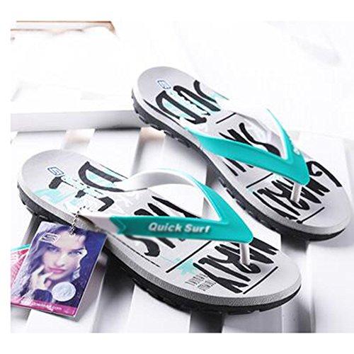 indossare infradito mare Infradito moda da Colore spiaggia facoltativo Estate coreano estate XIAOLIN formato 02 Sandali Colore dimensioni sandali 01 antiscivolo CN36 EU36 UK4 qwA0F8qY