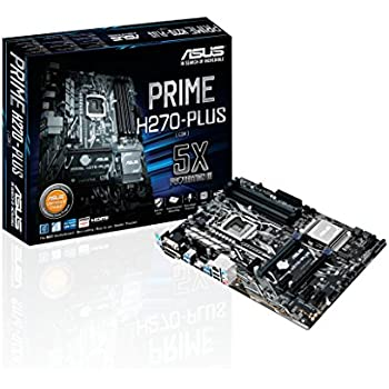 ASUS PRIME H270-PLUS LGA1151 DDR4 HDMI DVI VGA M.2 H270 ATX Motherboard with USB 3.0